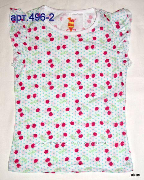 Красивые летние маечки для девочек 2-7лет, Англия, Primark