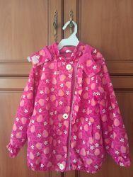 Красивая курточка  ветровка с флисовой подкладкой Lenne