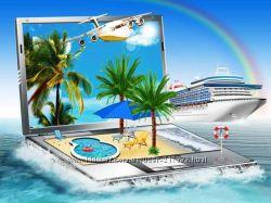 Онлайн-бизнес в сфере Туризм. Турагентство на дому On-line