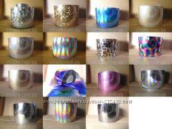 Фольга для металлических ногтей, голливудский маникюр - 60 видов
