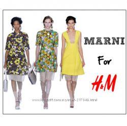 Причудливая смесь цветов. Платье Marni