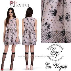 Фаевое платье с лебедями Red Valentino копия, 750 грн. Женские ... 0cfcd42714c