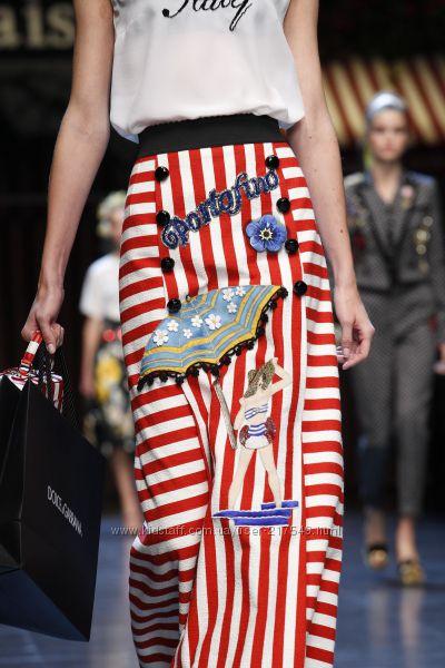 Модные мотивы курортного сезона костюм Dolce Gabbana копия