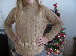 свитер детский натуральная 100 шерсть 5-10 лет