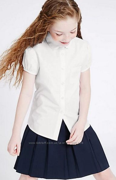 M&S школьная блузка, размер 10-11 лет