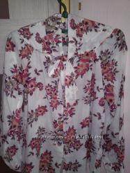 Воздушная блуза хлопок. Размер S.