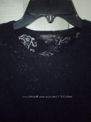 Полупрозрачная футболка Roberto Cavalli. Оригинал. Размер M.