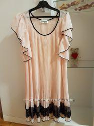 Платье прозрачное miu miu. оригинал. размер s-m.