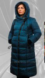 Зимнее модное пальто больших размеров, до 62 размера