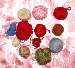 Остатки пряжи для ручного вязания из моих запасов. Распродажа