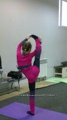 Вязанная разогрев-одежда для танцев.