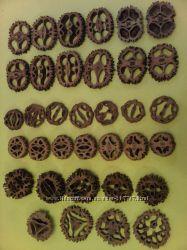 Ореховые срезы натуральные для творчества, оригинальные поделки