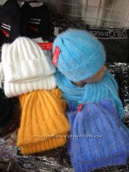 Шапка и шарф в комплекте