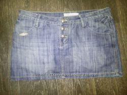 Фирменная джинсовая юбка в отличном состоянии