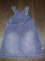 Фирменный джинсовый сарафан в идеальном состоянии