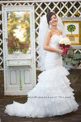 Весільна сукня, айворі