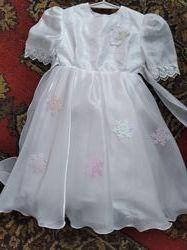 платья нарядные на возраст 2-11 лет