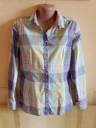 Стильная женская рубашка в клетку Colins