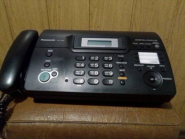 Телефон-факс Panasonic KX-FT938.