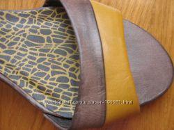 Новые кожаные открытые туфли р-р 40 S. OLIVER