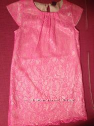 Легкое, праздничное платье Gap, рост 98-116 с