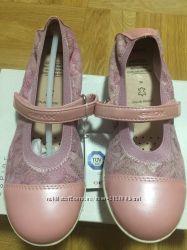 Туфли - балетки кожаные Geox, EUR - 34