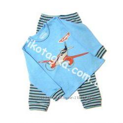 Пижамы для мальчиков в наличии, плотный трикотаж. Лемуа, Одетта, Бемби, МТФ