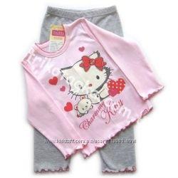 Пижамы для девочки в наличии. Качественный трикотаж Лемуа, Одетта, МТФ
