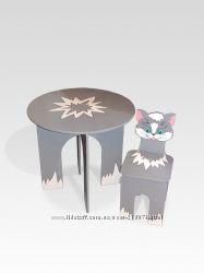 Детские столы и стульчики тм Даруся