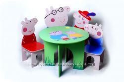 Детская мебель Семья свинки Пеппы тм Даруся