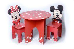 Детская мебель Микки и Минни Маус