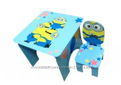 Комплект детской мебели Миньоны
