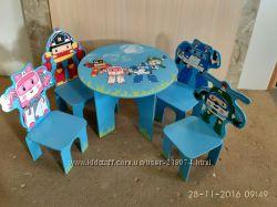 Детская мебель Поли Робокар