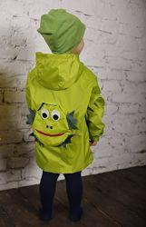 Куртка-рюкзак дождевик