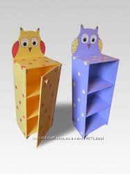 Детские шкафы, полки и ящики тм Даруся