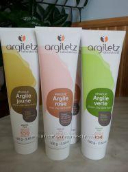 Argiletz маски на основе глины , 3 вида по 100мл
