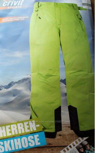 лыжные брюки crivit EUR 48 наш 54