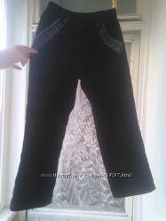 вельветовые штаны на байке