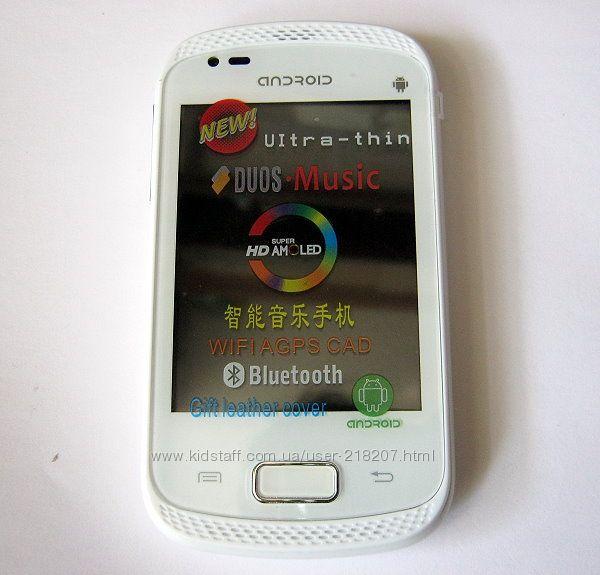 мобильный телефон смартфон на андроиде Samsung Galaxy Music S6010