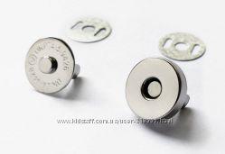 Магнитные кнопки застежки 18 мм