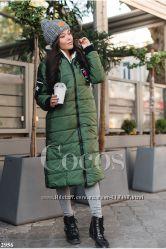 Зимние и демисезонные куртки и пальто на синтепоне