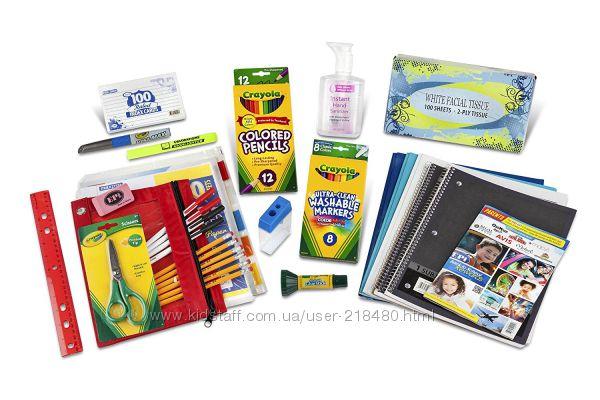 Crayola- полный комплект для школьника