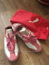 Кеды кроссовки кожаные Puma
