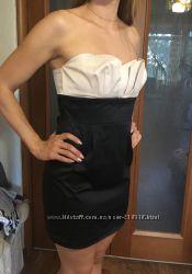 Вечернее платье-бюстье Naf-Naf