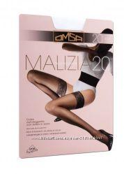 чулки Omsa Malizia 20den р. 2 Италия белые невесте