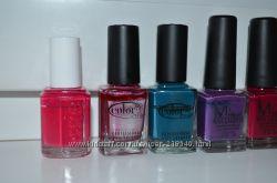 лаки бу Misa, Essie, OPI, Sephora, Shiseido, Color Club China Glaze