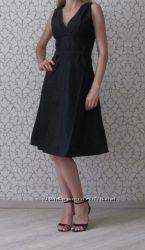 Черное нарядное платье Monton. Новое. Размер XS