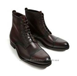 стильные мужские ботинки ф. ZARA р. 44 стелька 29см