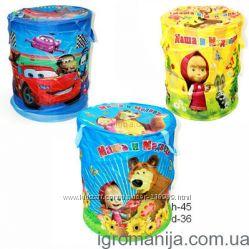 Новые в упаковке корзины для игрушек