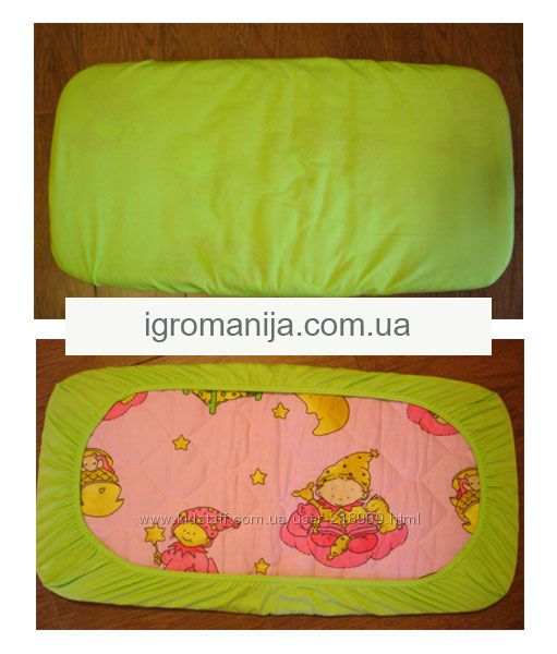 Простыня на резинке своими руками для детской кроватки